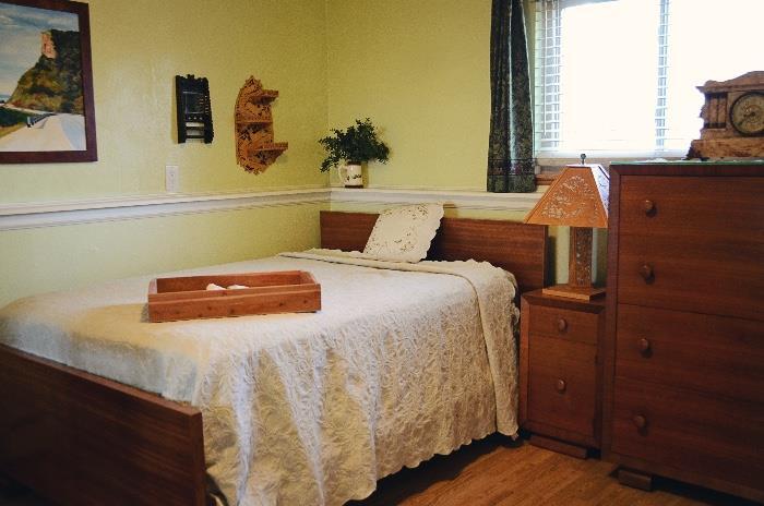 Mid-Century Bedroom Set - Americraft Maple