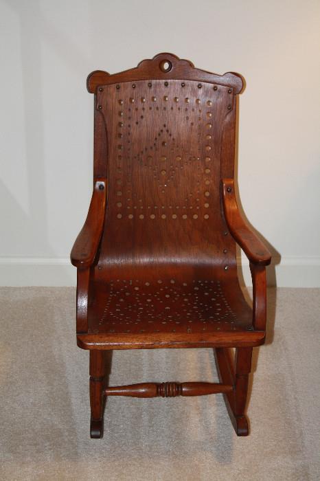 Antique Chair (made in Glen Gardner, NJ ?)
