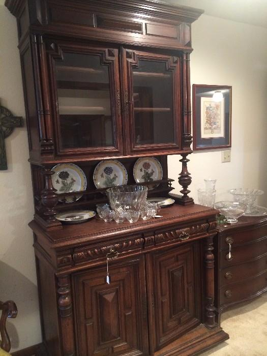 Stunning antique sideboard