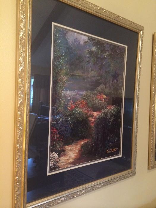 Pair of lovely framed pictures