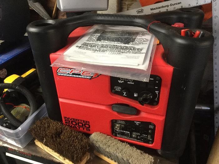 2000 watt generator in like-new condition