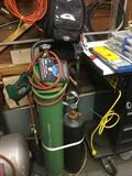 Oxy-acetylene welding set up - in very good working condition