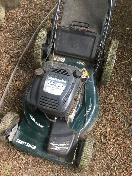 Craftsman 6.0 hp lawn mower