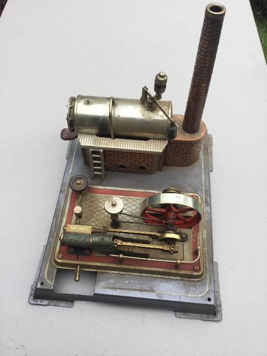 Vintage Wilesco steam engine