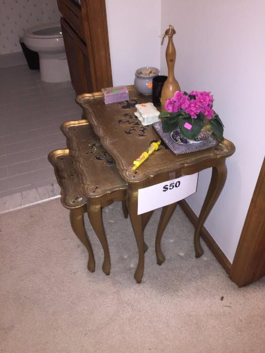 NESTING TABLES MADE IN ITALY