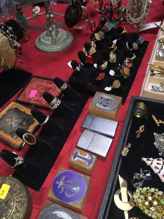 COSTUME AND VINTAGE JEWELRY