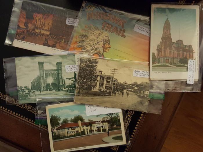 Vintage postcards!