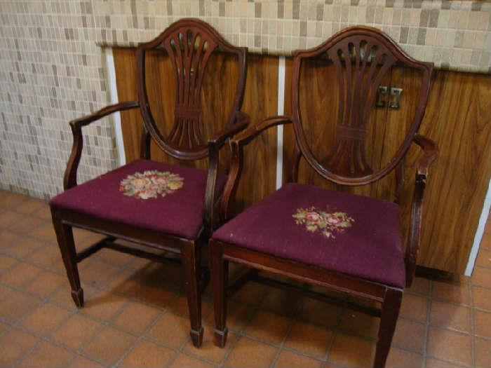 Part of a set of 6 Dining Chairs