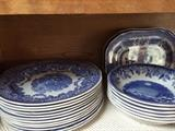 Dinner and dessert,  whst could be better on these lovely Spode dishes?