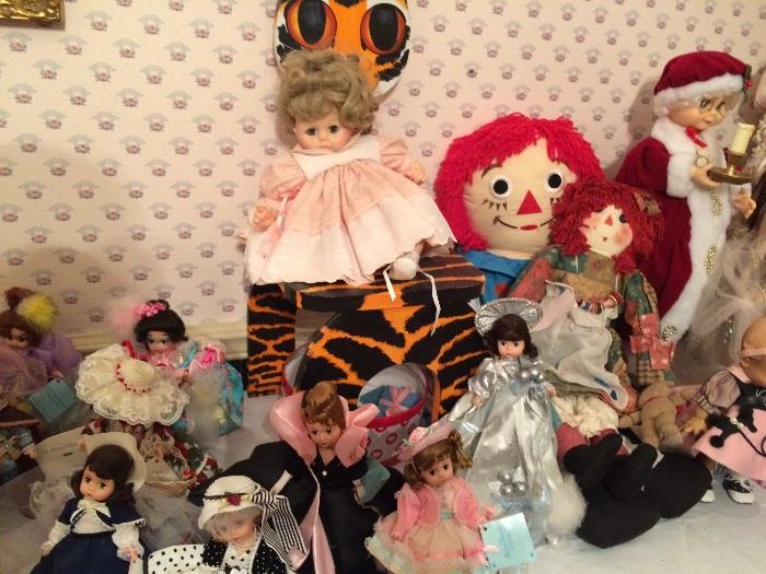 Collectible Madame Alexander Dolls
