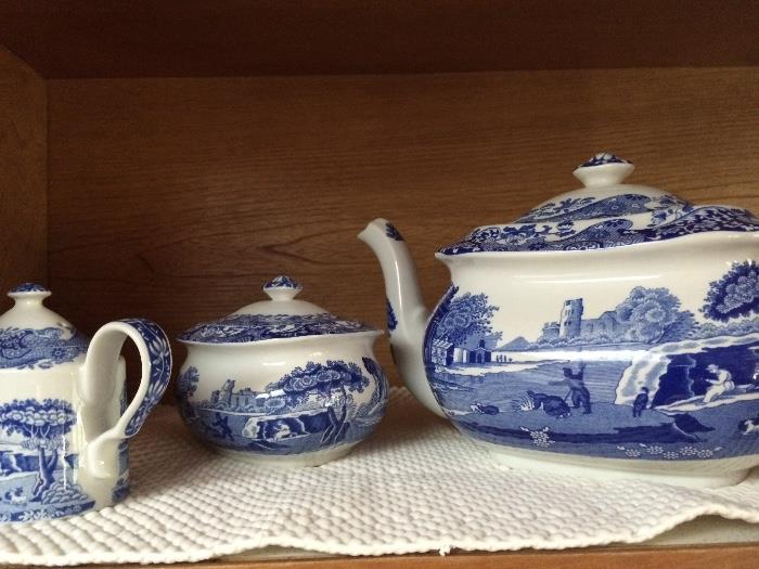 Spode teapot