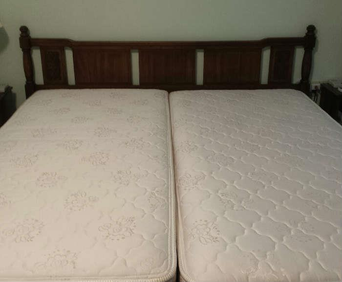 King Koil Amelia firm king size automated bed