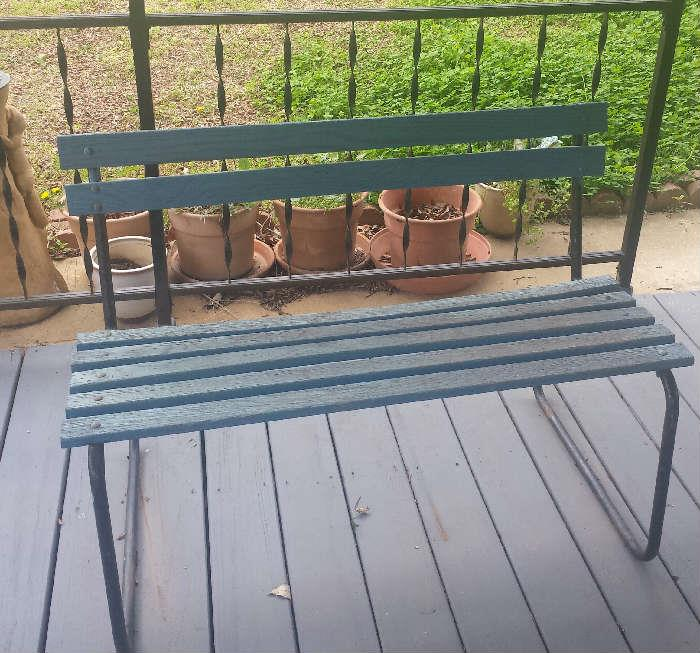 outside bench
