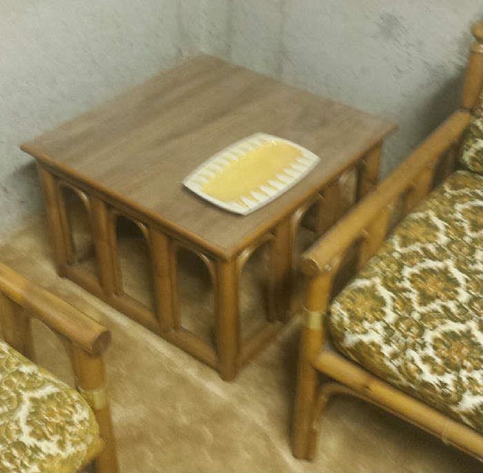 rattan tables