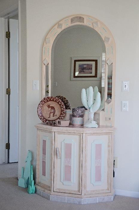 Southwest Decor and Mirror