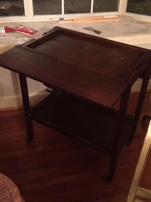 craftsman tea table