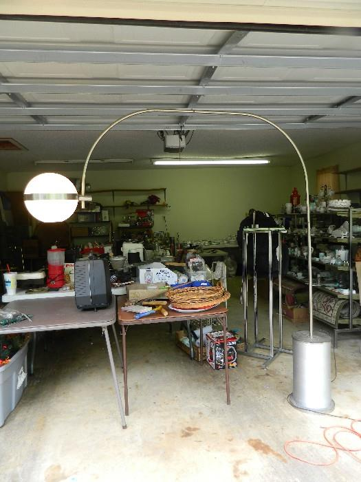 1960's large base & moveable light. Very large & heavy but is so cool!