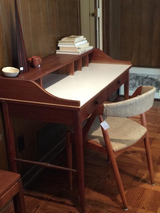 MCM Kai Kristiansen Chair w/ Drexel Desk.