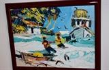 Paul Blair Henri painting