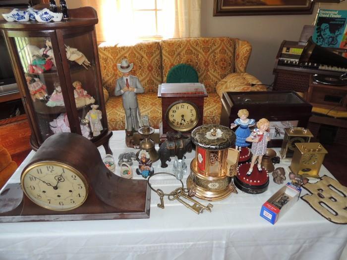 clocks and fun finds