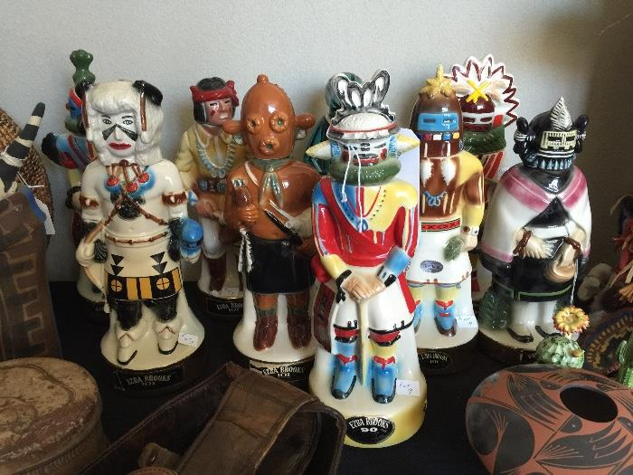 Kachina Kentucky Bourbon bottles