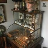 antique counter top display case