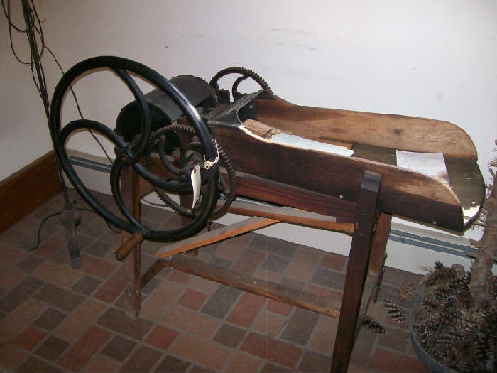 Early Pat. Dated 1861 Farm Implement