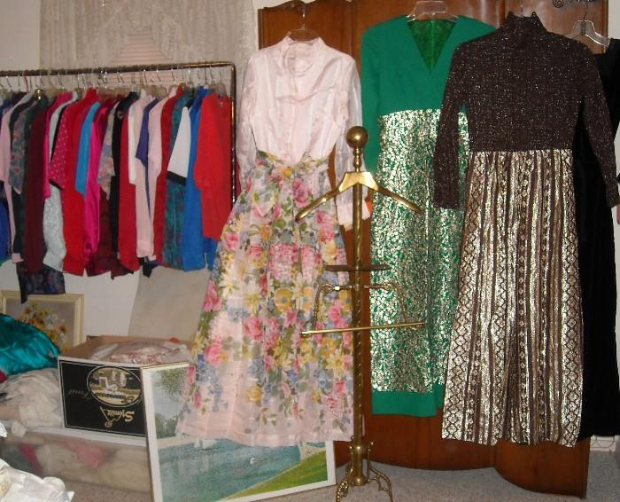 Vintage clothing with original sales tags. Never worn