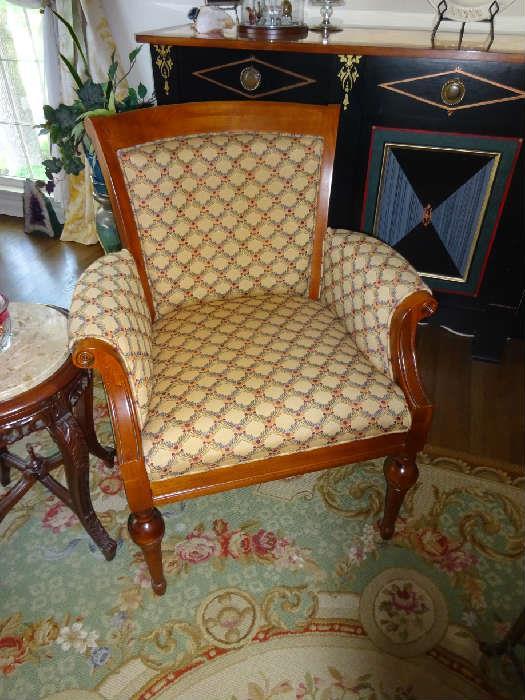 """Custom Arm Chair - 28""""W X 18""""D X 36""""H"""