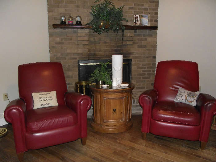 Ethan Allen Leather