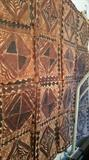 Samoan Tapestry with witchcraft markings
