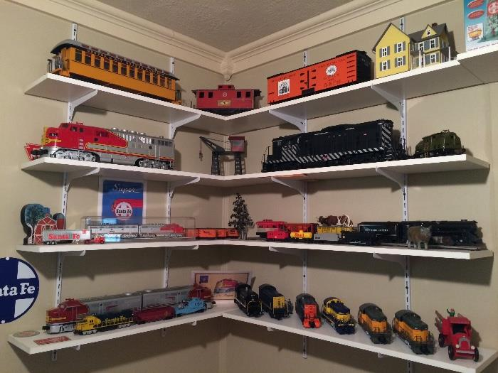 ALL ABOARD!  TRAIN COLLECTION