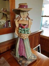 A Ceramic Sculpture by Sue Springer