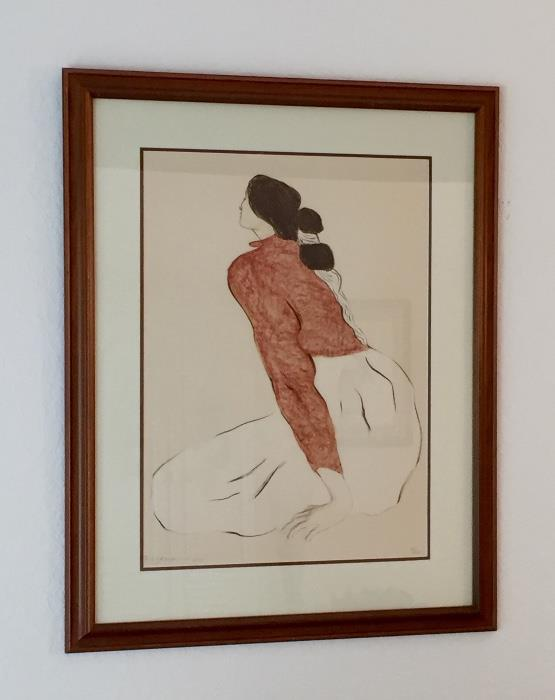 R.C. Gorman Signed/Numbered