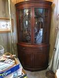 Very Nice Drexel Mahogany Corner Cabinet