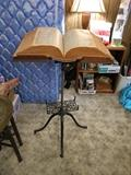Vintage 1895 Book/Bible Stand