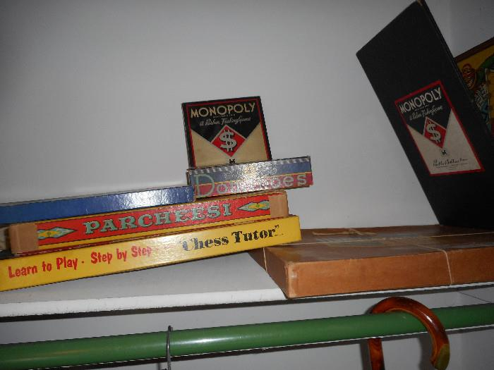 1930's & up board games
