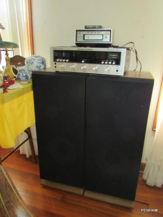Speakers 60% off, receiver sold