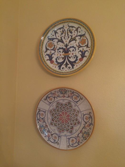 Platters purchased in Italy