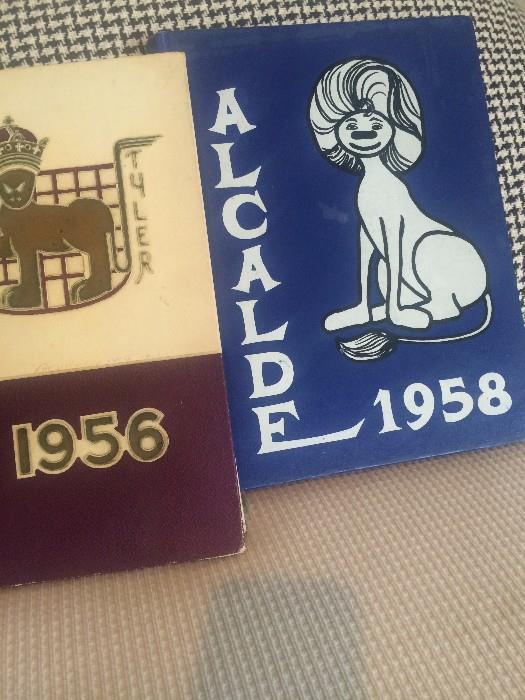 1956 and 1958 John Tyler High School yearbooks