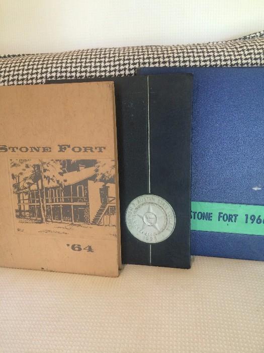 1964,  1965, 1966 Stephen F Austin yearbooks