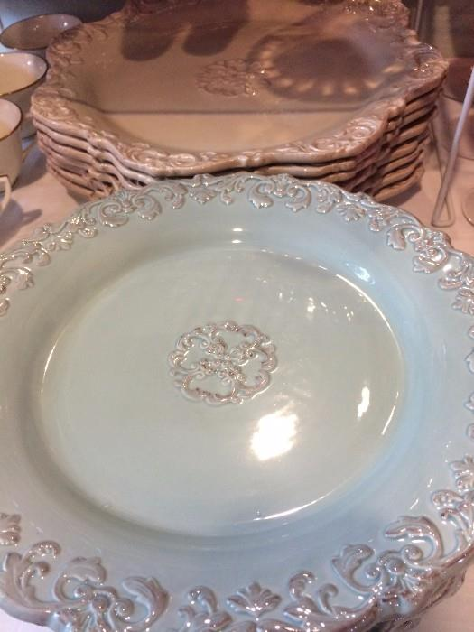 Variety of plates for all sorts of tablescapes