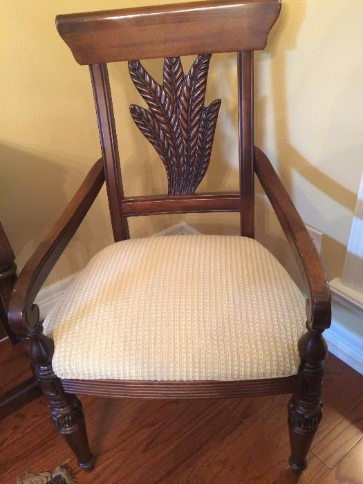 One of the host chairs for the dining room set