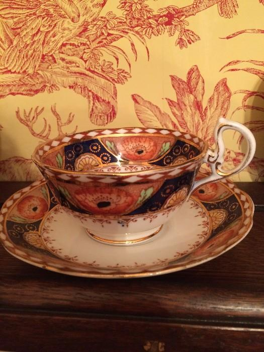 Royal Albert Crown china cups and saucers