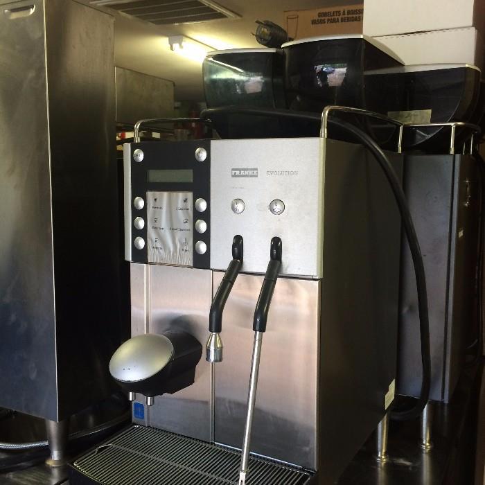Franke Evolution Espresso machine (Off premise-more details at sale)