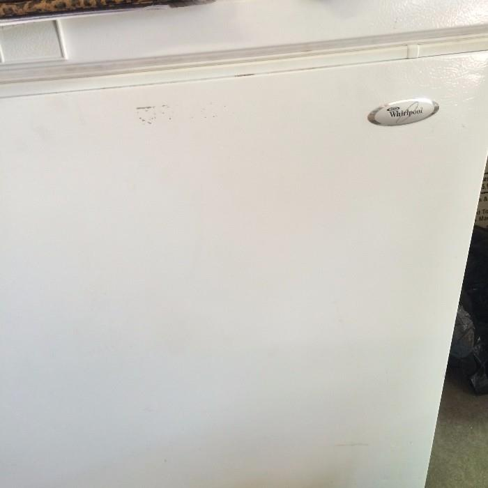 Whirlpool chest freezer -  (Off premise-more details at sale)