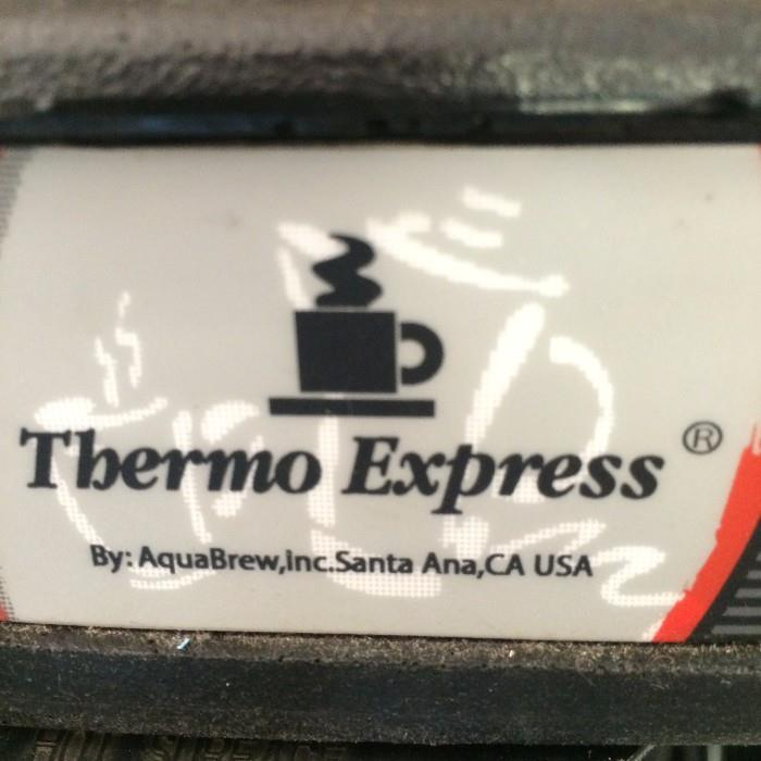 Thermo Express coffee brewer (Off premise-more details at sale)