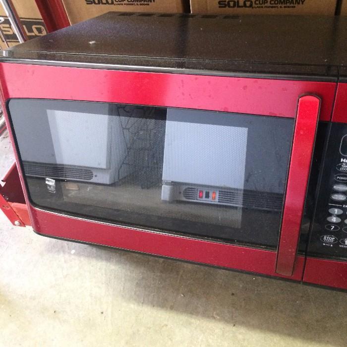 Hamilton Beach microwave  (Off premise-more details at sale)