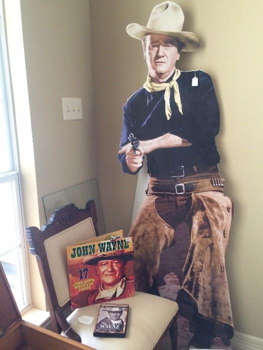 Life size John Wayne cut-out