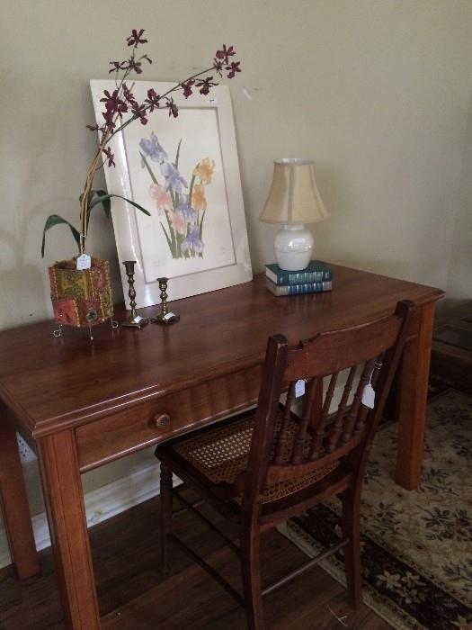 One of several desks